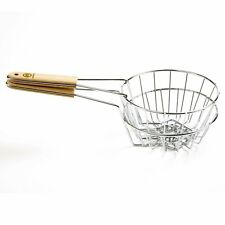 "Norpro 6"" Tortilla Fryer Basket Bird's Nest Taco Salad Bowl 6.5"" Dia Out Side"