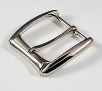 25mm w//loop in silver color and bonus rivets 10AB metal pin buckle 1 inch