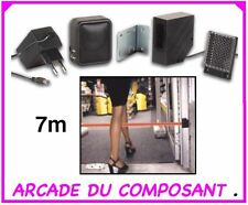 BARRIERE IR DETECTION DE PASSAGE maxi 7m - PORTE - MAGASIN (ref 71008-1)