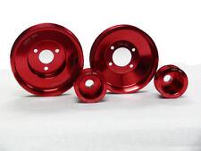 OBX CRANK POWER PULLEY KIT for BMW E36 325I M50 M3 S52 S50 Red Color