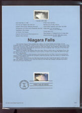 #C133 48c Niagara Falls USPS #9916 Souvenir Page