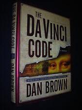 THE DA VINCI CODE Dan Brown 1st Edition/First Printing(Illustrated)HC/DJ 2004