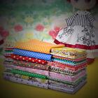 7 Fat Quarters Bundles Assorted Pre Cut craft fabric For DIY Cloth Toy - 50x50cm