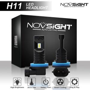 NIGHTEYE Paar 160W H11/H9/H8 LED Auto Nebelscheinwerfer DRL CSP Birne 6500K Weiß