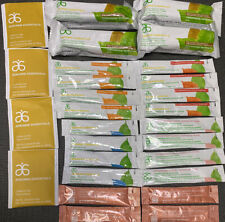 28x Arbonne Essentials Fizz Sticks, Chocolate Bar, Skin Elixir, Digestion Plus