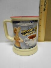 The Polar EXPRESS 3D Creamy Hot Chocolate 12oz Coffee Mug Tea Cup Warner Bros.