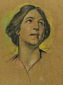 Reinhold Max Eichler 1872 - 1947 - Portrait of a Woman