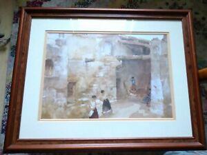 Lovely Framed Russel Flint Print 50cm x 41cm