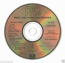 New Unplayed Audiophile DCC GOLD CD PAUL MCCARTNEY Ram