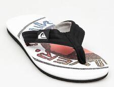 Unisex Quiksilver Molokai Layback Blanche Flip Flops Size 4//5 UK EU 37//38