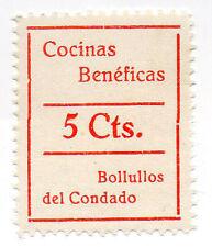 Sello Local Guerra Civil Bollullos del Condado -Cat. Galvez 134.  ORD:1364