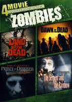 4-MOVIE: ZOMBIES (LAND OF THE DEAD/DAWN OF THE DEAD/PRINCE OF DARKNESS/THE (DVD)
