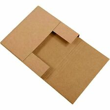 NEW BOX USA BM772BFK 7 1 2L x 7 1 2W x 2H Kraft Pack of 50 FREE SHIPPING