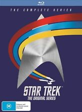 Star Trek The Original Series : Season 1-3(Blu-ray, 2016, 20-Disc Set)(Region B)