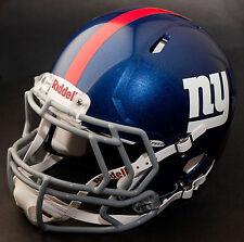NEW YORK GIANTS NFL Gameday REPLICA Football Helmet w/ S2EG Facemask
