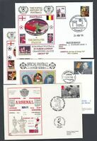 SEVEN Arsenal Football Club Covers Various Matches Some More Recent 1990s 2000s