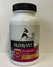 Nutri-Vet Probiotics for Dogs 60 Capsules - Helps Support Healthy Digestion