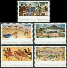 #5372-5376 Post Office Murals, Singles, Mint **ANY 4=FREE SHIPPING**