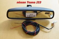 Nissan J33 2014 Genuine Auto Dimming Homelink Rear View Mirror Rearview