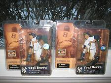MCFARLANE MLB COOPERSTOWN YOGI BERRA REGULAR & SOFT FIELDING HAT CHASE VARIANT