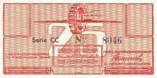 Netherlands Westerbork Labor Camp 25 Cent 1944 serial: CC 8046 Unc