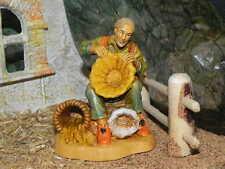 "3.5""  Pellegrini Nativity Scene Villager Figurine Presepio Pesebre Pastor"