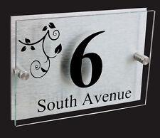 Contemporary Decorative Address Plaques
