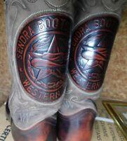 Sendra  Cowboy Boots 2587 Brown Leather, size: 8 (Eur42) excellent condition