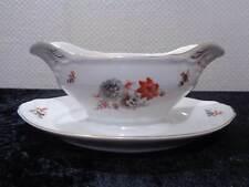 Antike Porzellan Sauciere C. Tielsch Altwasser Silesia - Vintage um 1920
