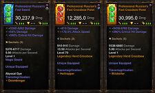 Diablo 3 RoS PS4 [SOFTCORE] - Modded Weapon Bundle - Sword & Crossbows!
