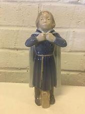 Vintage Royal Copenhagen Porcelain Schoolgirl Figurine 4503 Holger Christensen