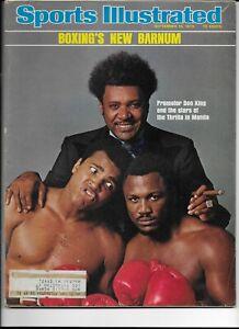 Sports Illustrated September 15 1975 Boxings New Barnum Don King Muhammad Ali NM