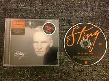 Sting - Sacred Love CD Album (The Police) Soft Rock, Pop Rock - 1 Disc Album