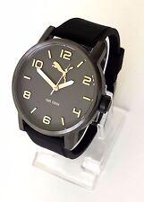 Puma Herren Uhr Alternative schwarz grau roségold Silikon PU104141007