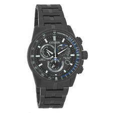 Citizen AT4127-52H Mens PCAT Radio Controlled Perpetual Calendar Eco-Drive Watch