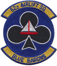 USAF 62d Fighter Squadron Embroidered Patch ** LAST FEW **