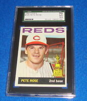 1964 Topps Pete Rose Card #125 SGC 5.5 Cincinnati Reds