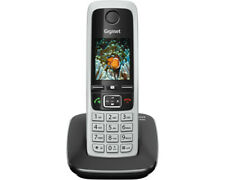 GIGASET C 430, Schnurloses Telefon, Silber/Schwarz