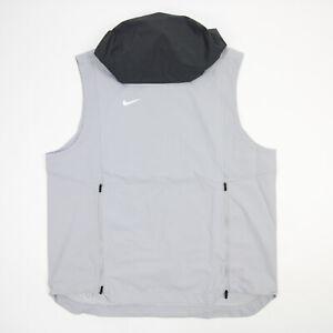 Nike Shield Sleeveless Shirt Men's Gray New with Tags