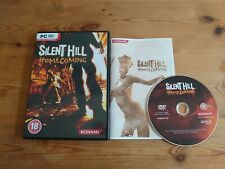 Silent Hill Homecoming - PC DVD ROM Game - Konami -  Rare - Complete With Manual