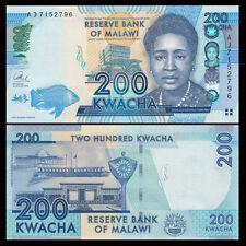 Malawi 200 Kwacha, 2016, P-60 New, UNC