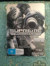 SUPREME COMMANDER *RARE* LIMITED COLLECTORS EDITION PC