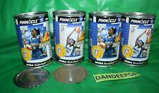 4 WNBA Basketball 1997 Tin Can With Cards Monarchs Pinnacle Inaugural
