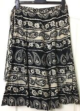 """NWOT STUNNING """"TOPSHOP"""" BOHO SEQUIN PEASANT GYPSY WENCH SKIRT SIZE 10"""