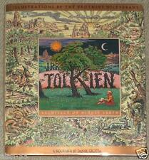 BIOGRAPHY OF TOLKIEN Grotta ~ ILLUSTRATED by BROTHERS HILDEBRANDT ~ AWESOME PIX!