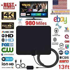 980Mile Range Antenna TV Digital HD Skywire 4K Antena Digital Indoor HD 1080p SB