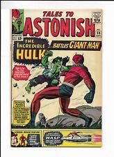 Tales To Astonish #59 1st Hulk In Title Hulk Vs Giant-Man VF Marvel Comics 1964