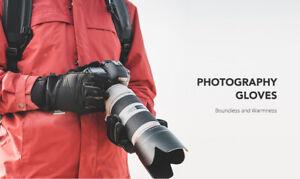 PGYTECH PHOTOGRAPHY GLOVE SIZE M