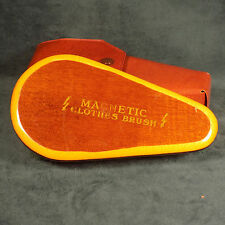 VINTAGE MAGNETIC CLOTHES BRUSH WITH CASE MADE IN WEST GERMANY