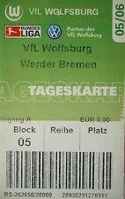 TICKET 2005/06 VfL Wolfsburg - Werder Bremen